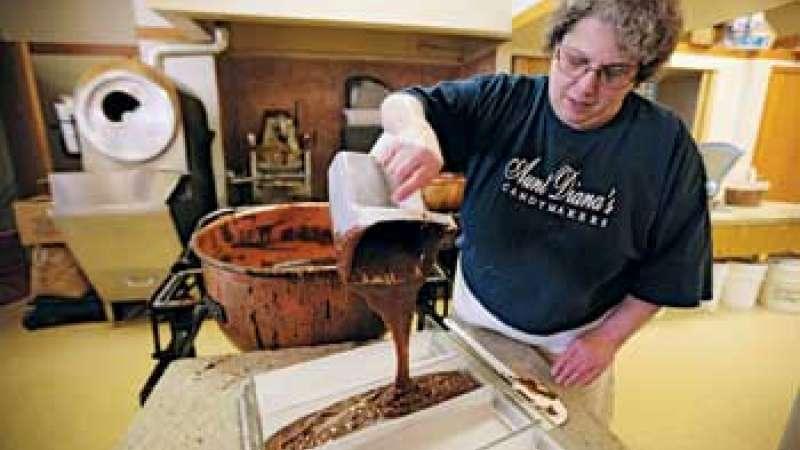 Aunt Diana's Old Fashioned Fudge